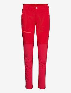Pallas W X-stretch Lite Pants - pantalon de randonnée - ski patrol red