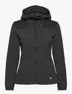 Pallas II Women's X-stretch Jacket - wandel- en regenjassen - anthracite grey