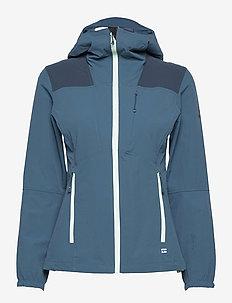 Pallas II Women's X-stretch Jacket - wandel- en regenjassen - legion blue