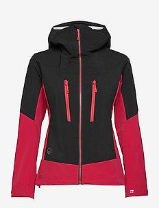Pallas W hybrid II Jacket - wandel- en regenjassen - ski patrol red