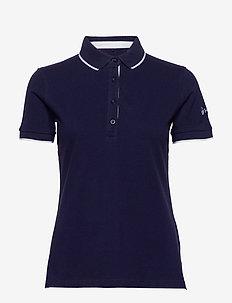 Vuokko Women's Pique Polo shirt - pikéer - peacoat blue