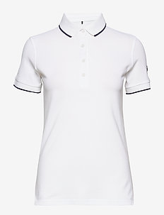Vuokko Women's Pique Polo shirt - polo''s - white / north sky blue