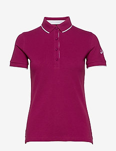 Vuokko Women's Pique Polo shirt - paidat - wild aster purple