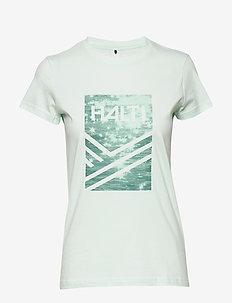 Retki Women's T-shirt - BLEACHED AQUA MINT