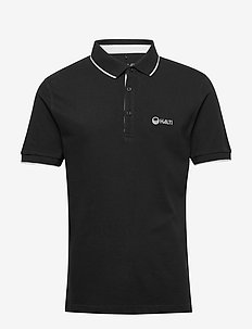 Lari Men's Polo shirt - polos à manches courtes - black