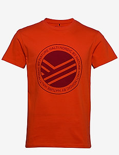 Retki Men's T-shirt - urheilutopit - tangerine tango red