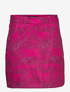Ilo Women's Skort - WILD ASTER PURPLE PRINT