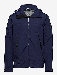 Kivi M Jacket - shell jackets - peacoat blue