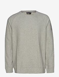 Natta M Shirt - basic sweatshirts - nimbus cloud melange