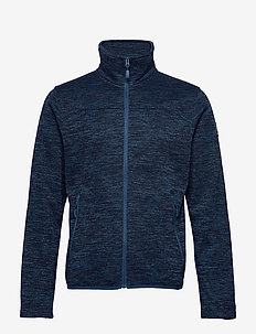 Ruoko M Jacket - fleece midlayer - blue opal melange