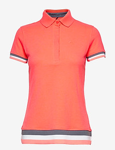 Vilma Women's CO T-shirt - polo''s - neon fiery coral