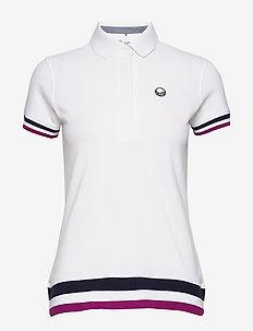Vilma Women's CO T-shirt - pikéer - white