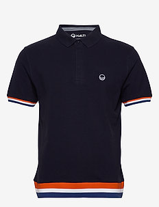 Vesku Men's Pique Polo shirt - polo''s - peacoat blue