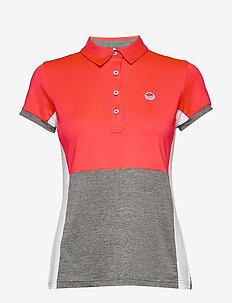 Helen Women's T-shirt - koszulki polo - neon fiery coral