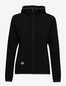 Kielo Women's softshell jacket - softshell jackets - black