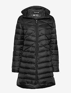 Kataja W+ quilted jacket - BLACK