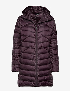Kataja W+ quilted jacket - MULLED WINE