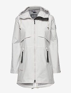 Valkia W parka jacket - outdoor & rain jackets - nimbus cloud