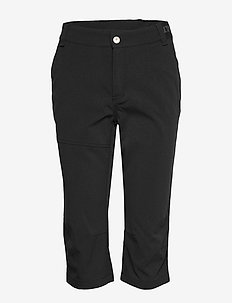 Vuokatti W Capri pants - outdoorhosen - black