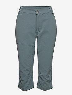 Vuokatti W Capri pants - ulkohousut - goblin blue