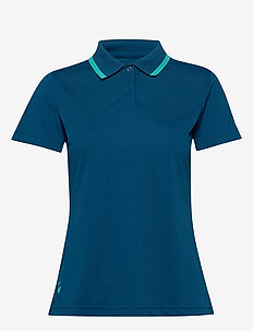 Seita W technical polo - koszulki polo - blue opal