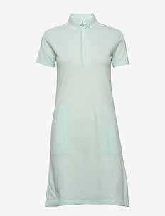 Leimikki W organic cotton Dress - sports dresses - bleached aqua mint