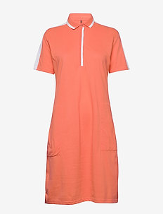 Leimikki W organic cotton Dress - sports dresses - fusion coral