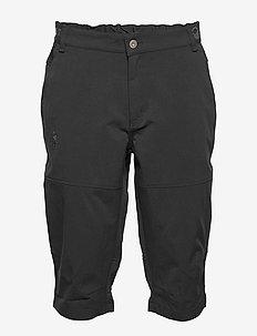 Vuokatti M Capri pants - ulkoiluhousut - black