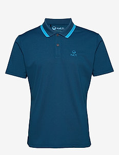Salo M technical polo - paidat - blue opal