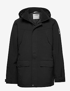 Luosto Men's Warm parka jacket - parki - black