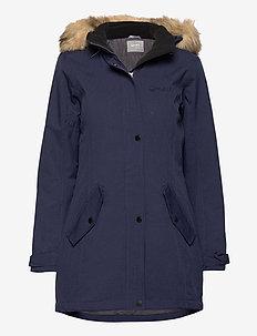 Luosto Women's parka jacket - parkaser - peacoat blue