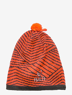 Into Beanie - luer - neon fiery coral