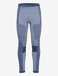 Nila Men's Seamless Base Layer Pants - base layer bottoms - peacoat blue
