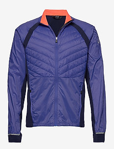 Keimi Men's Hybrid Jacket - insulated jackets - power blue