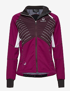 Kaarre W Jacket - softshell-jackor - magenta purple