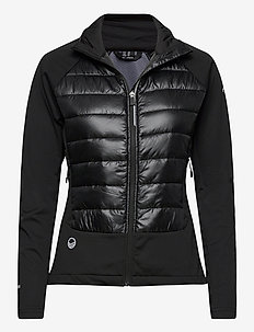 Olos Women's Hybrid Cross Country Ski Jacket - träningsjackor - black