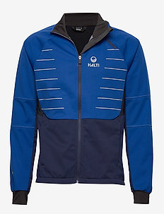 Kaarre M Jacket - softshell jackets - surf the web blue