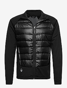 Olos Men's Hybrid Cross Country Ski Jacket - koulutustakit - black