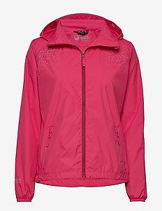 Hieta Women's windbraker jacket - AZALEA PINK