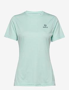 Susa W T-shirt - t-skjorter - bleached aqua mint