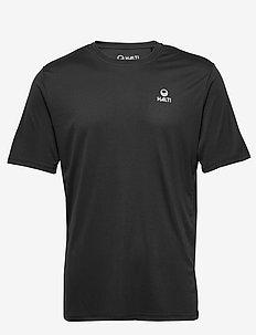 Osku M T-shirt - topy sportowe - black