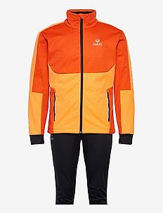 Petro M XCT Set - vestes d'entraînement - orange com