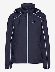 Reitti W windbraker jacket - koulutustakit - black iris blue
