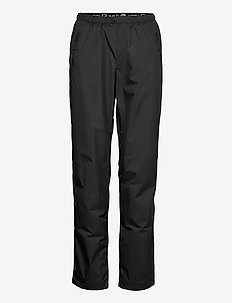 Reitti W windbraker pants - friluftsbyxor - black