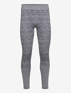 Free Recy Men's Seamless Base Layer Pants - base layer bottoms - folkstone grey melange