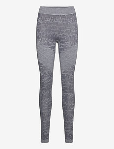 Free Recy Women's Seamless Base Layer Pants - base layer bottoms - folkstone grey melange