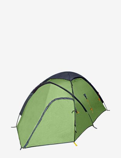 Vaelluskupoli 4 Tent - tents - forest green
