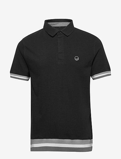 Vesku Men's Pique Polo shirt - polos - black