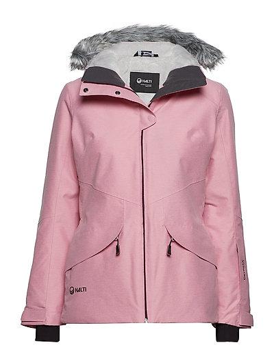Elega W DX ski jacket - ORCHID ICE PINK MELANGE