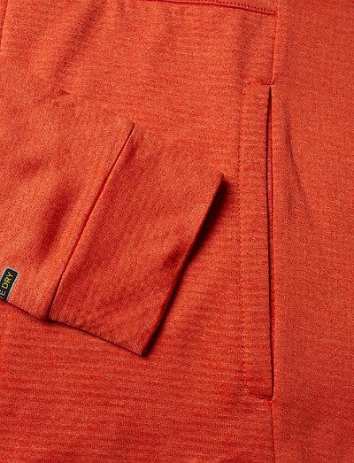 Halti Puijo M Hoodie Jacket- Bluzy Orange Com Melange